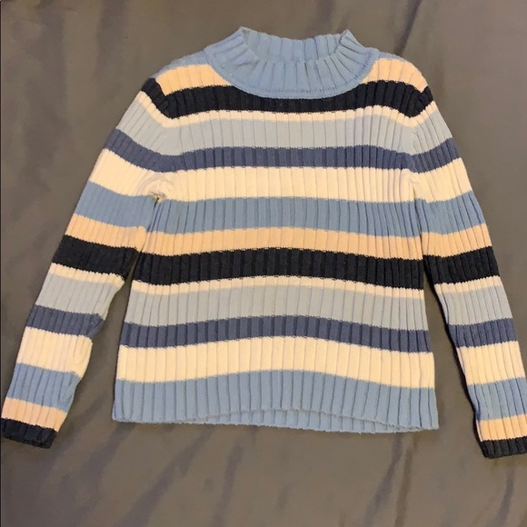 Blue strip sweater